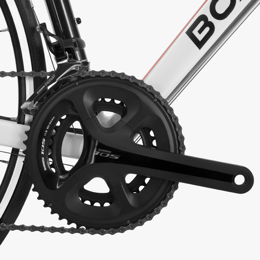 Boardman SLR 8.9 Alloy Road Bike - Close-up of Groupset