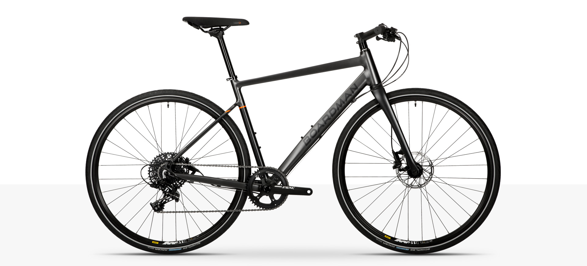 Boardman HYB 8.9 Hybrid Bike in Black