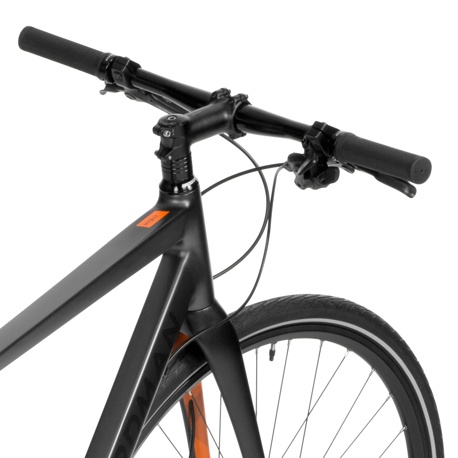 Boardman HYB 8.9 Hybrid Bike - Close-up of Handlebars