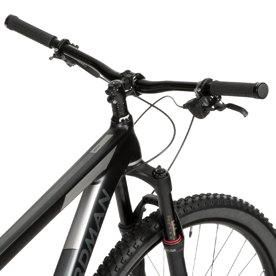 Boardman MHT 8.9 Hardtail Mountain Bike - Close-up of Handle