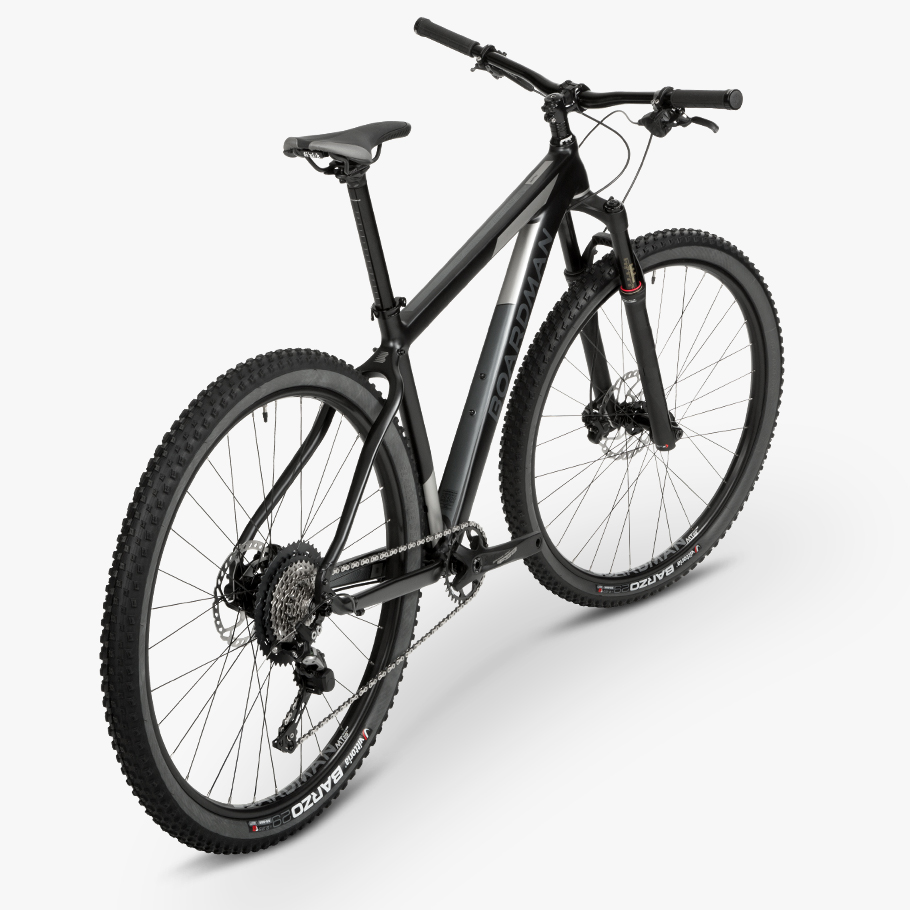 Boardman MHT 8.9 Hardtail Mountain Bike - Oblique Angle Phot