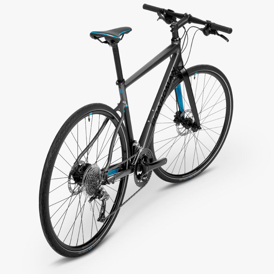 Boardman Hyb 8 6 Grey Hybrid Bike Boardman Bikes