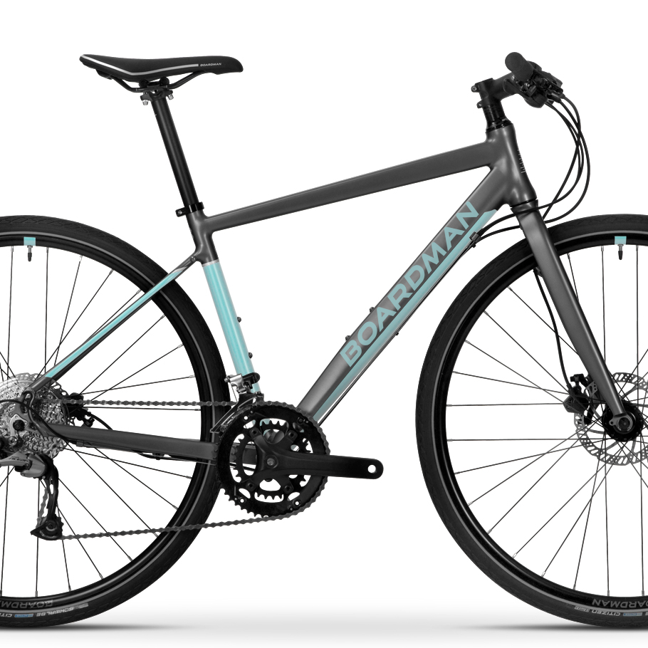 ae8c3a39562 Boardman HYB 8.6 Women's Hybrid Bike - Close-up of Frameset