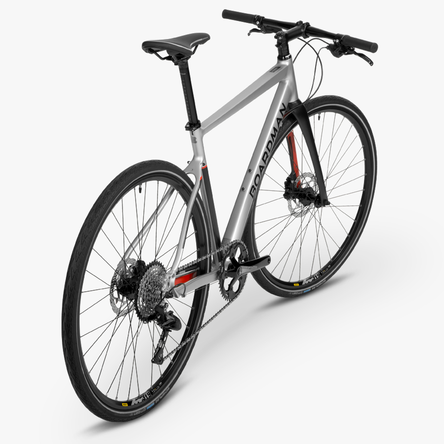 Boardman HYB 8.8 Hybrid Bike - Oblique Angle Photo