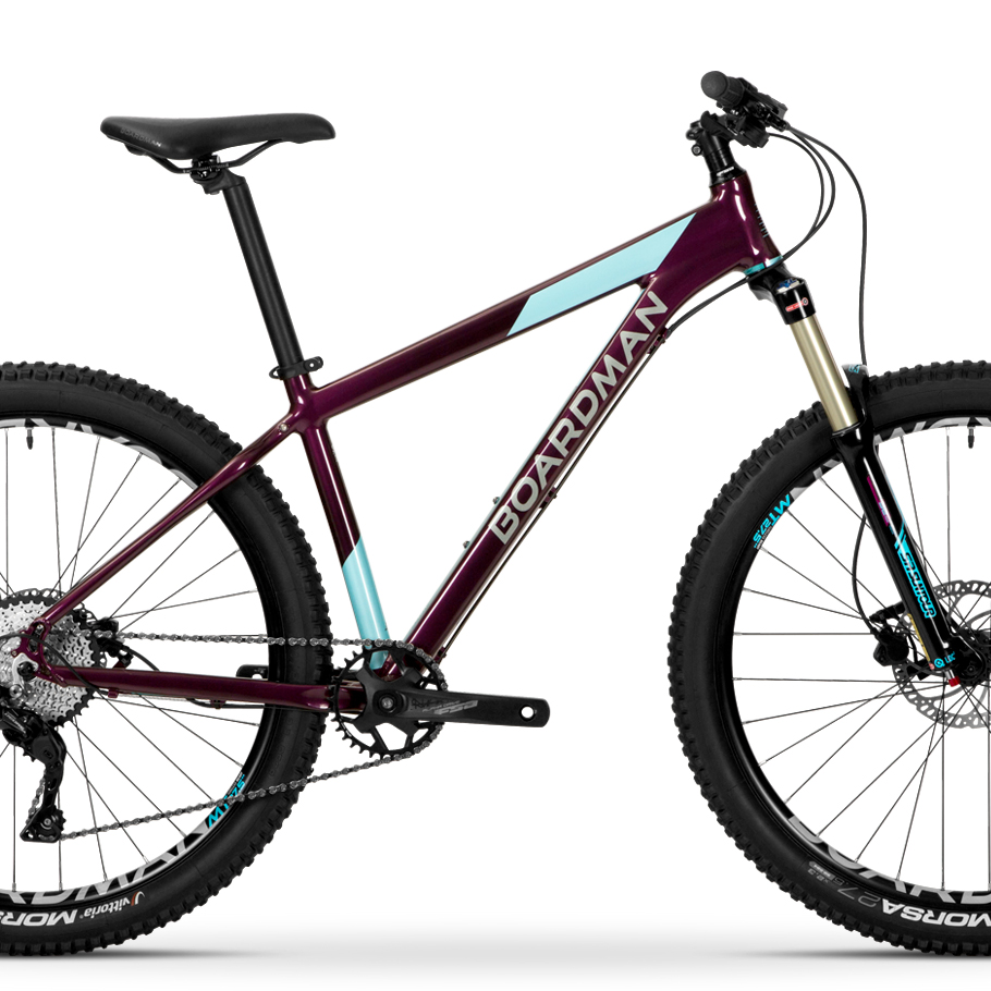 Boardman MHT 8.6 Womens' Hardtail Mountain Bike - Close-up o