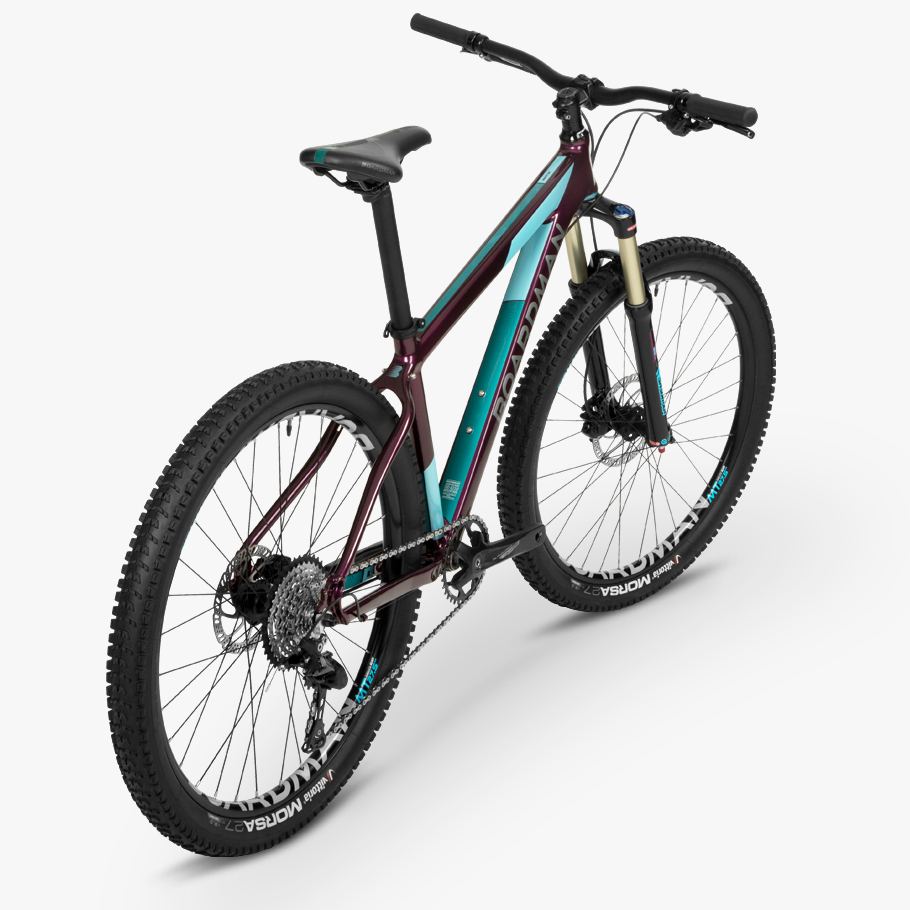 Boardman MHT 8.6 Womens' Hardtail Mountain Bike - Oblique An