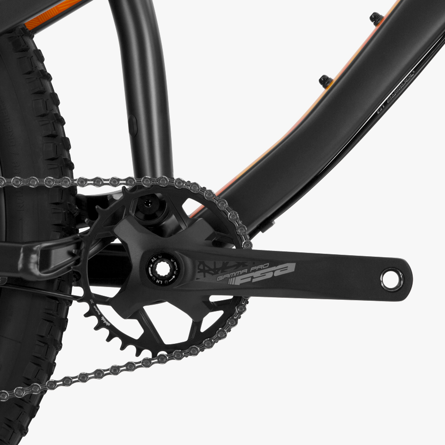 Boardman MTR 8.8 Mountain Bike - Close-up of Groupset