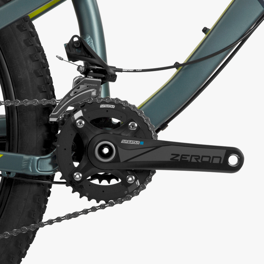 Boardman MTR 8.6 Mountain Bike - Close-up of Groupset