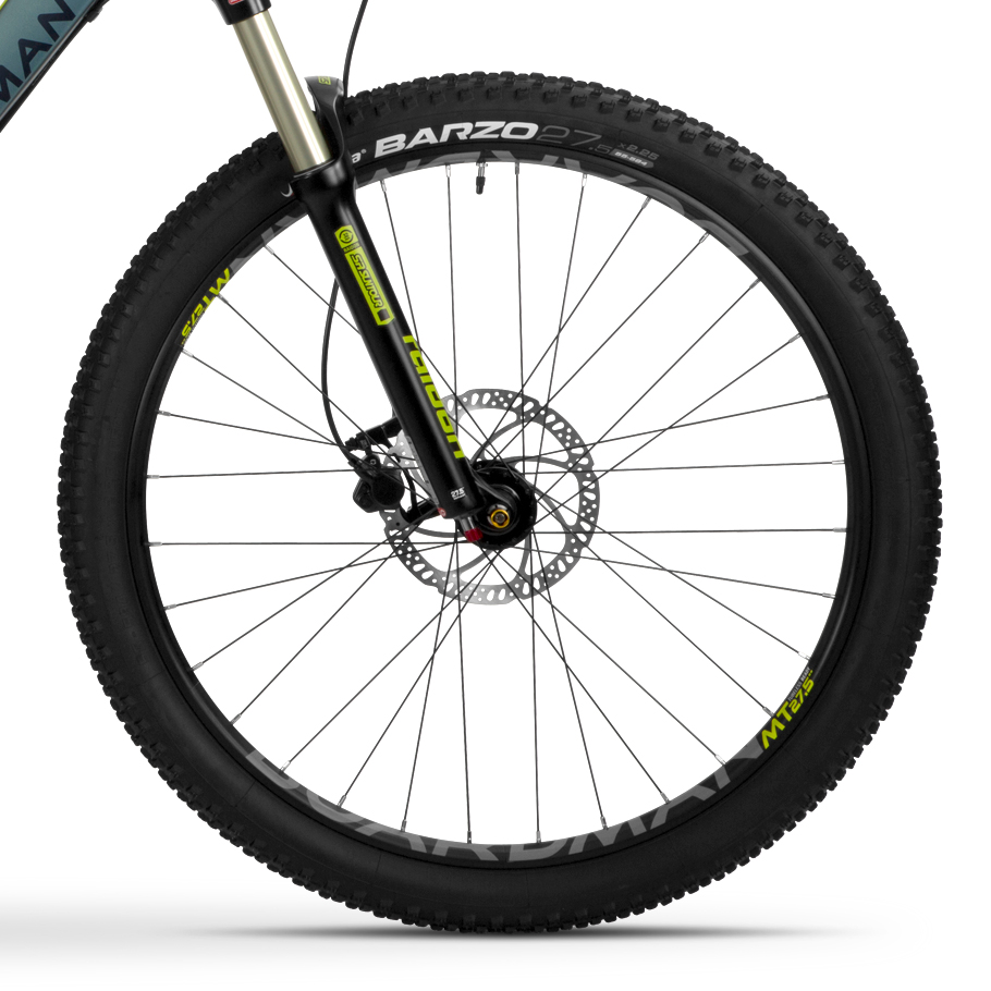 Boardman MTR 8.6 Mountain Bike - Close-up of Wheelset