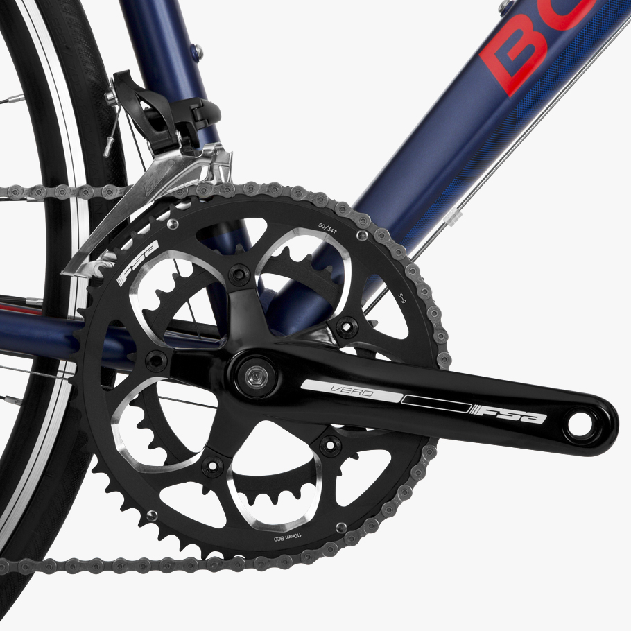 Boardman SLR 8.8 Road Bike - Close-up of Groupset