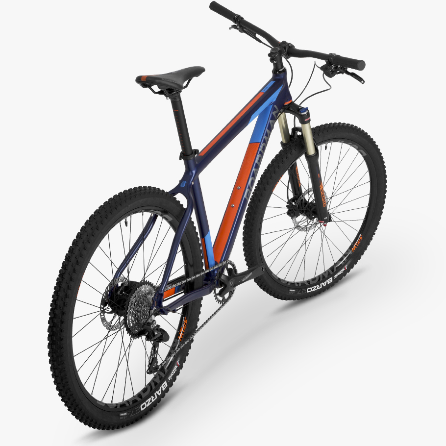 Boardman MHT 8.6 Hardtail Mountain Bike - Oblique Angle Phot