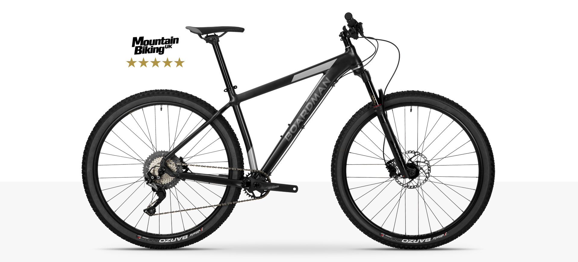 Boardman MHT 8.9 Hardtail Mountain Bike in Black