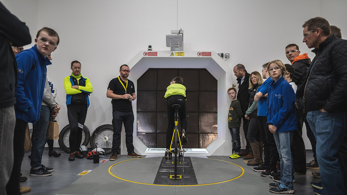 Performance Centre Club get a Demo in the wind tunnel