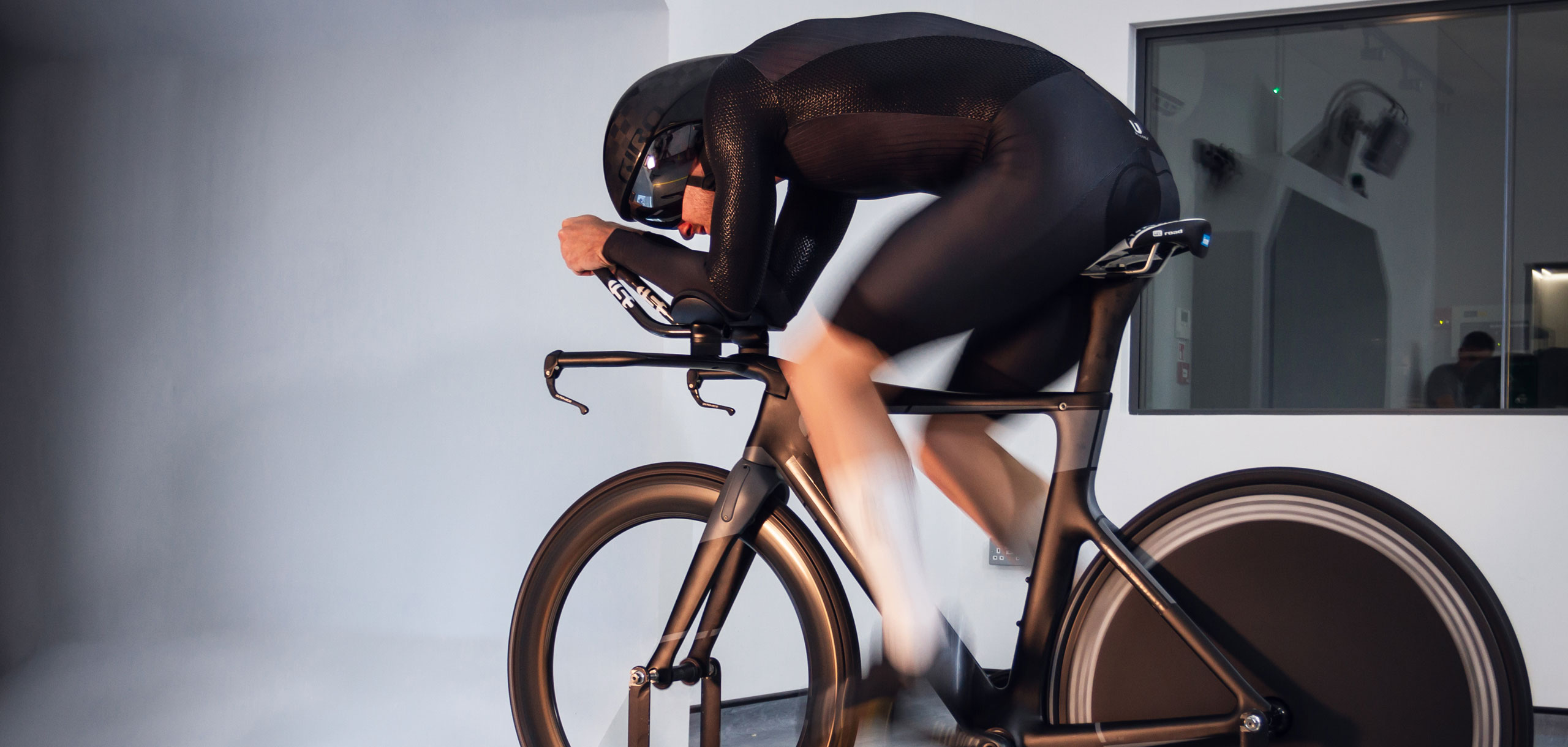 Athlete in the Wind Tunnel