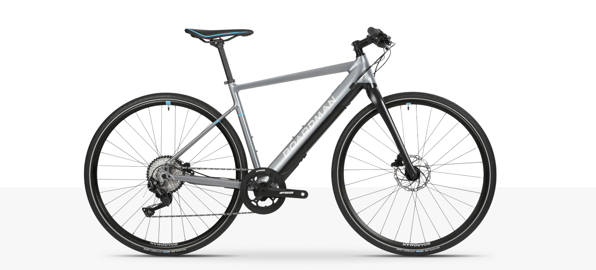 Boardman HYB 8.9 Electric Assist flat bar hybrid bike