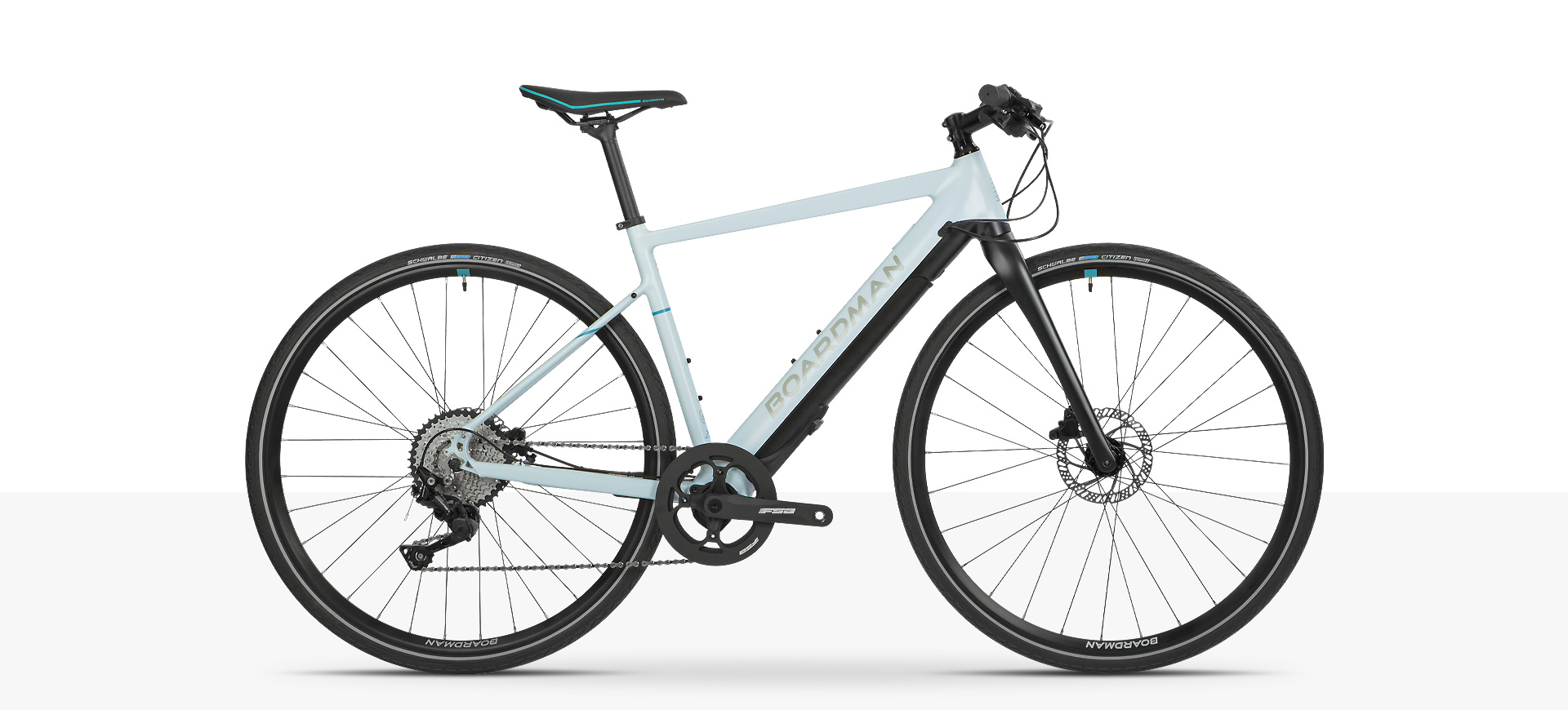 Boardman HYB 8.9 Womens Electric Assist flat bar hybrid bike