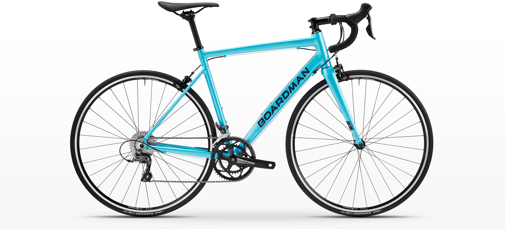 Boardman SLR 8.6 Womens Alloy Road Bike in Metallic Cyan
