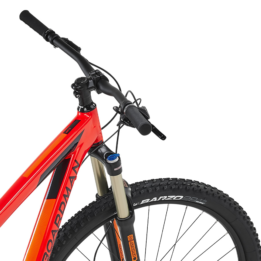 Boardman MHT 8.6 Hardtail Mountain Bike - Close-up o