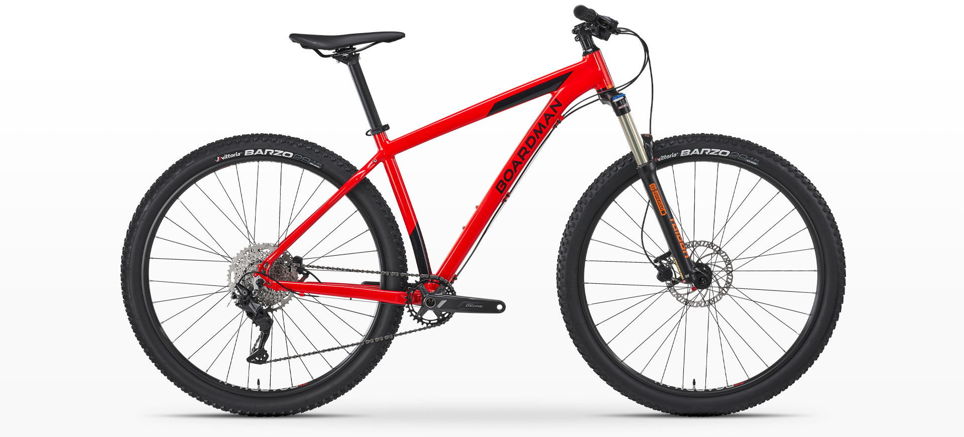 Boardman MHT 8.6 Hardtail Mountain Bike Red