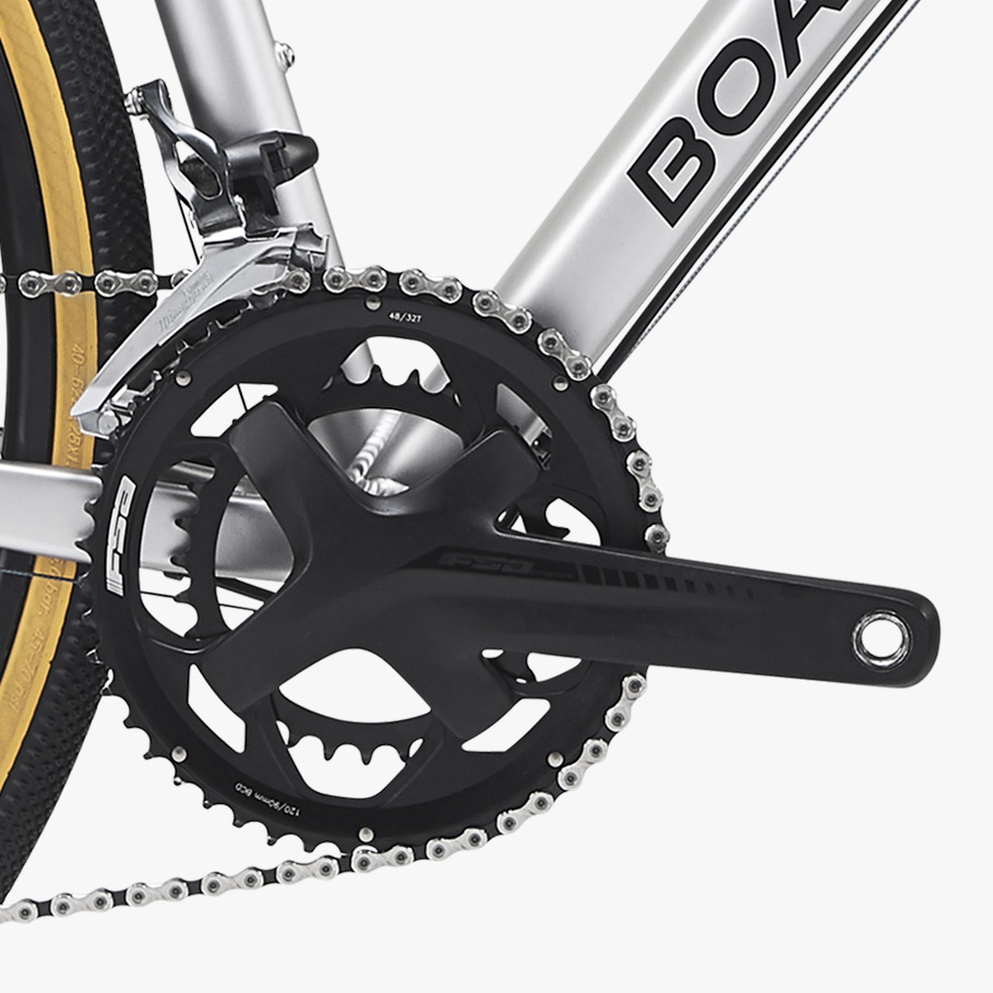 Boardman ADV 8.9 Chainset Close Up