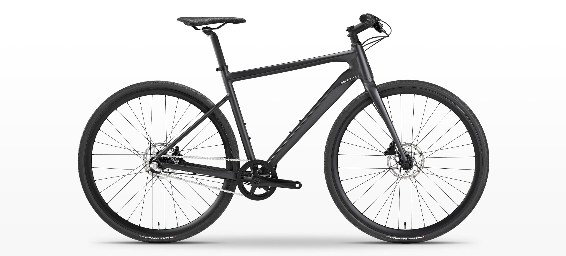 Boardman Urban Commute URB 8.6 Bike in gunmetal black